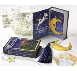 Moon Bookmark and Giftbox Favor