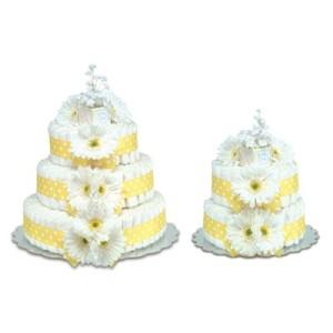 Classic Baby Diaper Cake 4