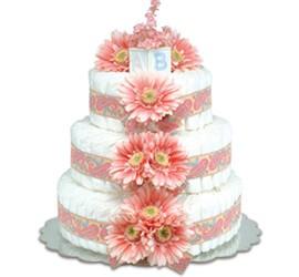Groovy Baby Diaper Cake