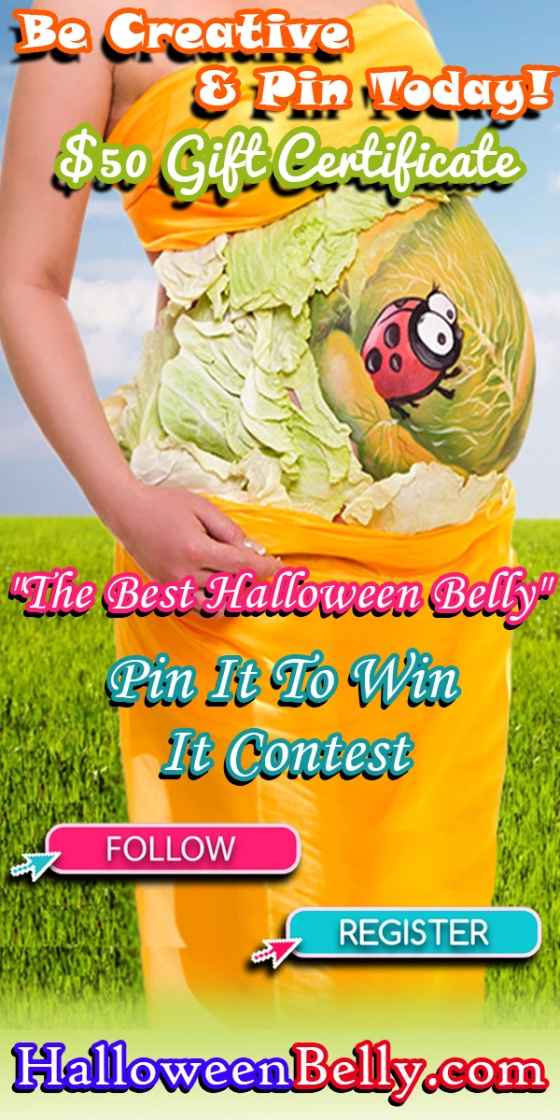Halloween Belly Pinterest Contest